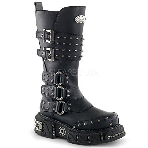 e Boots DMA-3004 schwarz Gr.43,5 (Billig Pleaser Schuhe)