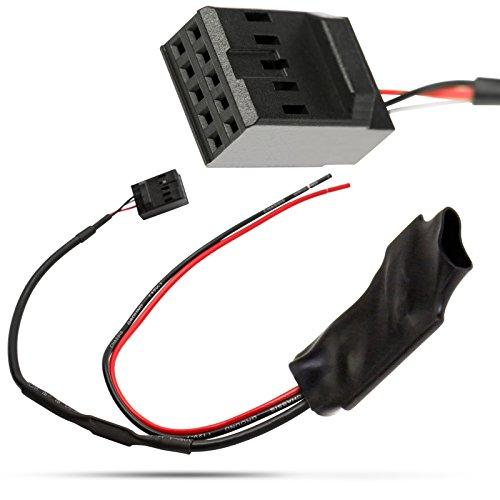 Universe Bluetooth Adaptateur AUX IN Câble adaptateur 10POL Prise pour Business CD BMW SÉRIE 3 E46