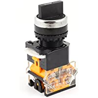 660V 10A DPST No + NC zelfborg Extremo 3Posición Control Rotary Switch