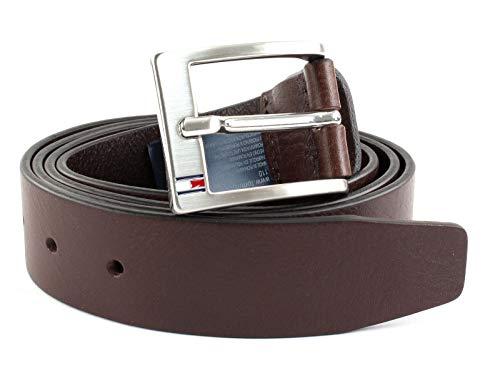 Tommy Hilfiger Herren New Aly Belt Gürtel, Braun (Testa Di Moro 066), 679 (Herstellergröße: 115)