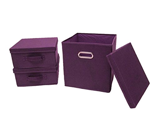 aufbewahrungsbox stoff mit deckel. Black Bedroom Furniture Sets. Home Design Ideas