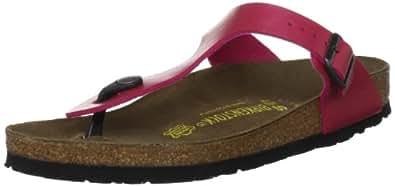 Birkenstock Women's Gizeh 812 UK191 Rose Red Slides Sandal 2 UK 35 EU