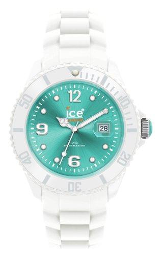 Ice-Watch Unisex-Armbanduhr Ice-White  Medium Turquoise SI.WT.U.S.10