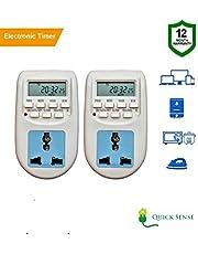 Quick sense QsT1  230 Volt 24x7 Digital Programmable Timer