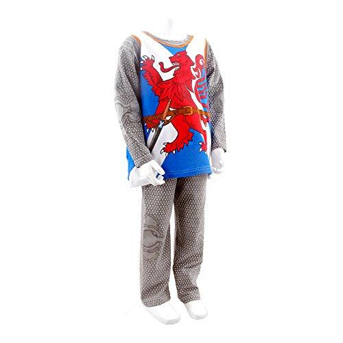 Mond Kostüm Ritter - PLAY'N'WEAR Ritter von Schottland Pyjamas & Lustige Homewear (3-4 Jahre)