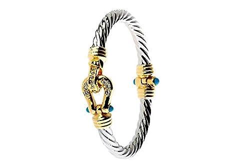 N/L: Deux Tons Bracelet magnétique
