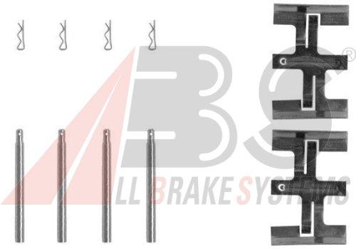 ABS 1045Q Zubehörsatz, Scheibenbremsbelag