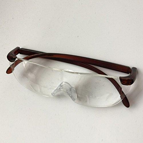 Sourban Big gafas visión lupa como visto