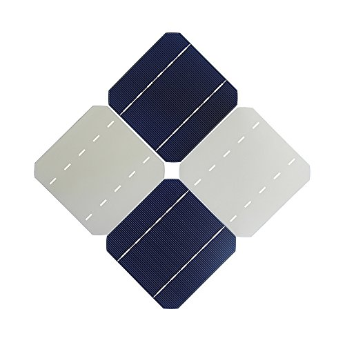 VIKOCELL 2.8W Mono Solar Cells 5×5 For DIY Solar Panel 100W (Pack of 40 )