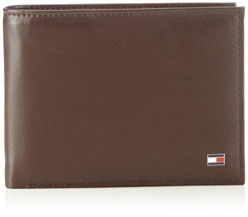 Tommy Hilfiger Herren ETON CC FLAP & COIN POCKET Geldbörsen, Braun (BROWN 204), 14x10x2 cm