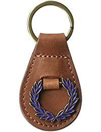 Fred Perry Hommes Classic Laurel Wreath Keyring Tan