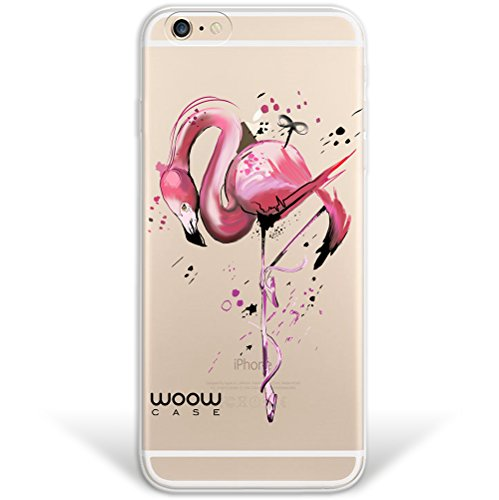 iPhone 6 6S Hülle, WoowCase® [ Hybrid ] Handyhülle PC + Silikon für [ iPhone 6 6S ] Universum Mädchen Mehrfarbig Handytasche Handy Cover Case Schutzhülle - Transparent Hybrid Hülle iPhone 6 6S H0013