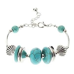 Vintage style bohème vert Perle Turquoise Bracelet