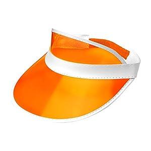 WIDMANN 01469 Gorra de los años 80, Unisex - Adulto, Naranja