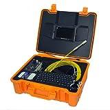 mabelstar chimenea aire tubería de conducto inspección cámara con cable de 50m y DVR función