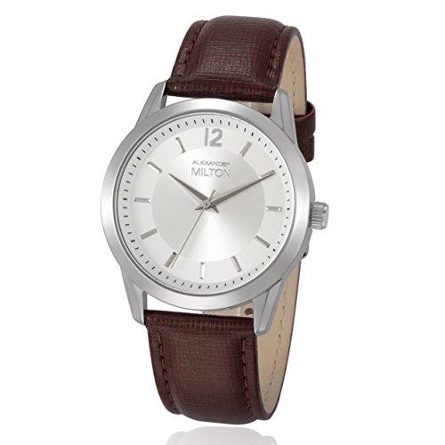 ALEXANDER MILTON - montre femme - EPONA, marron/argente