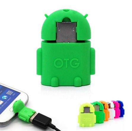 KRS A1 Grün - USB OTG Robot - otg Adapter