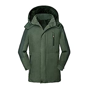Havanadd Wasserdichte Bergjacke für Herren Herren Mountain Waterproof Ski Jacket Windproof Regenjacke