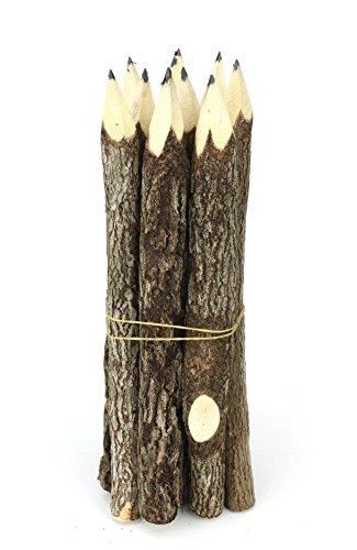Thai Tree Branch Twig Pencil Bundle - Large Size - Black Only - Multipack of 3 Bundles