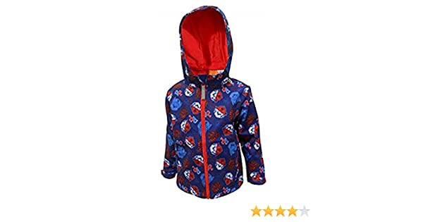"Paw Patrol Boys ""Action"" Soft Shell Fleece Lined Hooded Jacket"