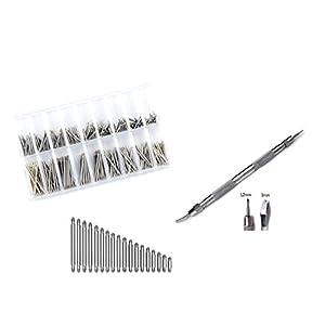 360 Federstege 10-27mm Uhrenwerkzeug Uhrenstifte Armband Federstegbesteck