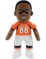 "NFL Denver Broncos Demaryius Thomas Plush Figure, 10"", Orange"