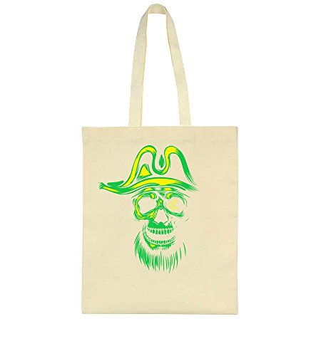 Silhouette Leinentasche Tote Bag (Scary Halloween-silhouetten)