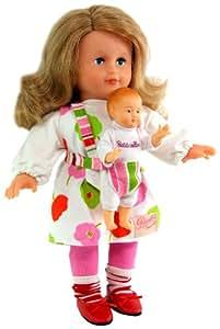 Petitcollin 623537 - Poupée Mannequin - Coline - Maman et Bébé - 35 cm - le modèle aléatoire