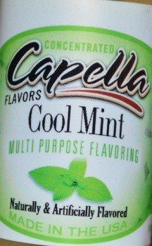 Liquid Cool Mint (Capella Aroma 13ml DIY Größe Cool Mint (Minze))
