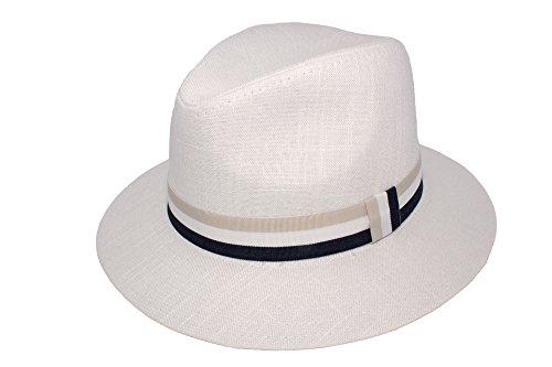 Fenside Country Clothing Sombrero de vestir - para hombre Marfil blanco  Medium 44a7688d57c