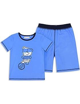 The Essential One - Jungen Kinder Pyjama - Blau - EOT363