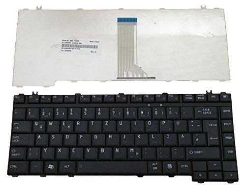 Tastatur für Toshiba A200, A205, A210, A215, A300, A305, A305D, L200, L205, L300, M200, M205, M210, M215, M300 Deutsch NEU Schwarz (Pulled)