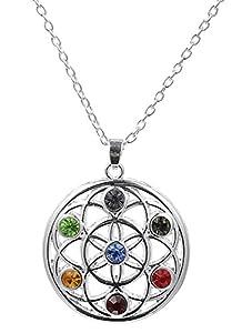 Fishhook 7 Chakra Yoga Crystal