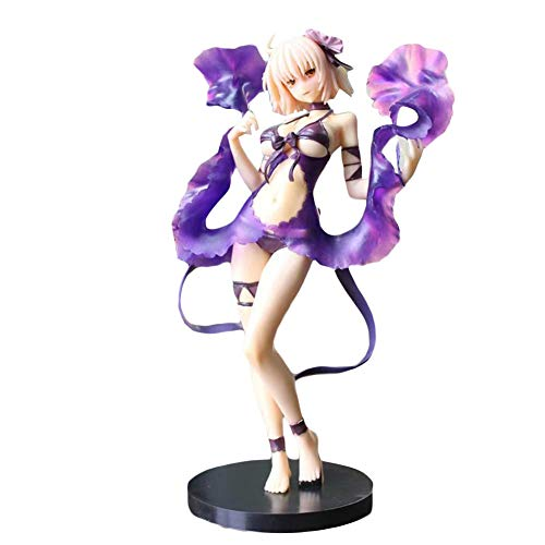 yuhiugre Anime Schicksal / Stay Night FGO Jeanne d'Arc (Alter) Figur Modell Spielzeug -