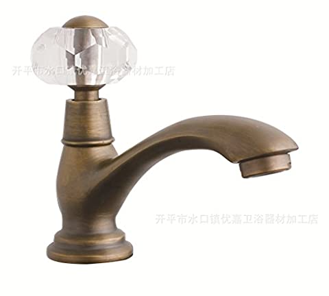 Furesnts Modern home kitchen and bathroom faucet Antique single cold