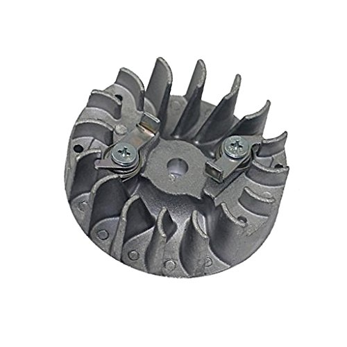 Fenteer Polrad/Schwungrad/Lüfterrad Schwungräder Ersatzteile für Husqvarna 137 137e 142 142e
