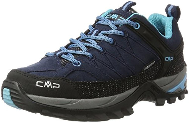 CMP Rigel Low Wp, Scarpe Da Arrampicata Basse Donna | Fornitura sufficiente  | Uomini/Donne Scarpa