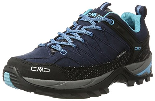 CMP Damen Rigel Low Trekking-& Wanderhalbschuhe, Blau (B.Blue-Clorophilla 82bd), 39 EU