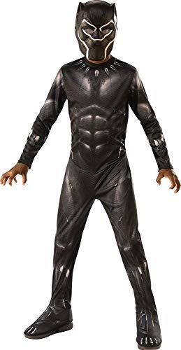 Kinder Kostüm Panther Black - Rubie's-Costume I-641046L Kostüm für Jungen, Größe L