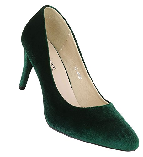 High Damen Grün Schuhe Elegant Pumps Heels wHxaH0q