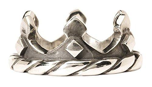 Trollbeads Anello Argento 925 Corona Crown Varie Misure