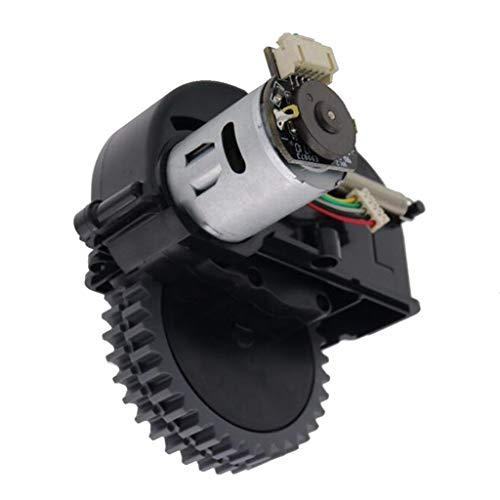 41bl6H6o7hL - FLAMEER Rueda Giratoria Accesorios para Aspiradoras Piezas de Repuestos Trabaja con Ilife V3s Pro V5s Pro - Rueda Izquierda