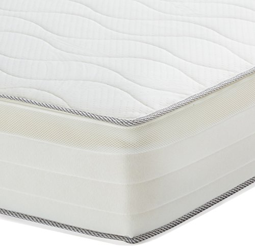 AmazonBasics Extra-Komfort-Federkernmatratze, mit 7 Zonen, 90 x 200 cm