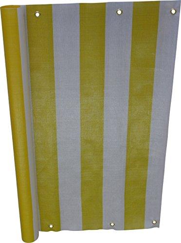angerer-brise-vue-design-jaune-blanc-90-cm-longueur-6-metre