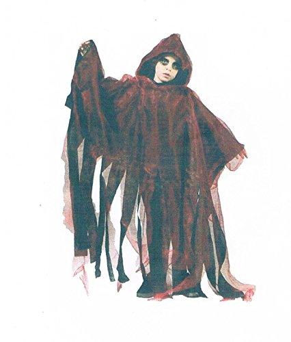 ren-Cape-Umhang-Kostüm-Halloween-Maske-Leiche-Zombi-Kürbis-Gruseln-Scream-Blut-onesize-vom-Sachsen-Versand (13 Geister-halloween-kostüme)