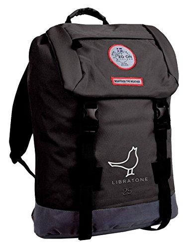 Preisvergleich Produktbild Zo-on H1641-BLACK Hengifoss Libratone Laptop-Rucksack 25 L schwarz