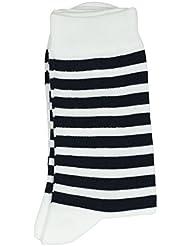 Rayée marine/blanc - Chaussettes HUBLOT MULTICOLOR 39/42