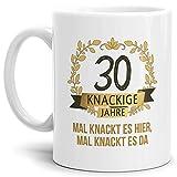Tassendruck Geburtstags-Tasse Knackige 30