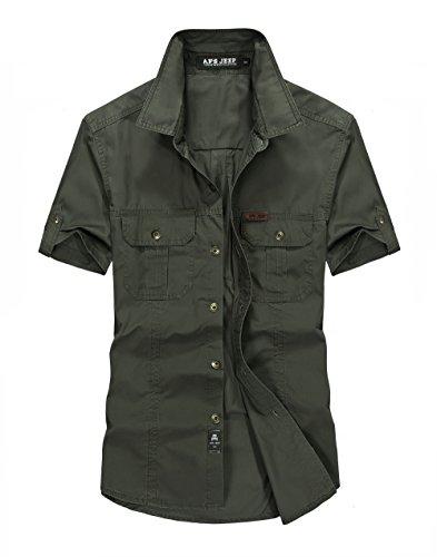 Camicie uomo estive maniche corte slim fit coreana camicetta and online 663