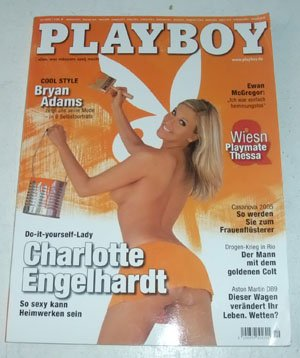 PLAYBOY 10/2005 Charlotte Engerlhardt Brian Adams